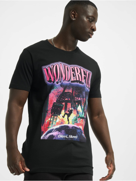 Mister Tee T-Shirt Wonderful schwarz