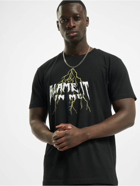 Mister Tee T-Shirt Blame It schwarz