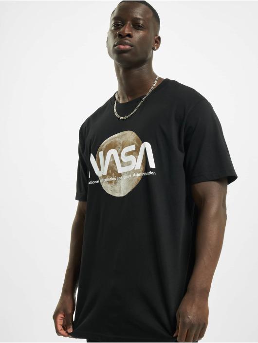 Mister Tee T-Shirt Nasa Moon schwarz