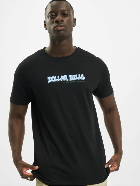 Mister Tee T-Shirt Dollar Bills schwarz