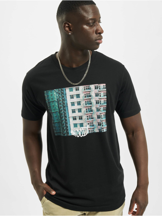 Mister Tee T-Shirt Hood schwarz