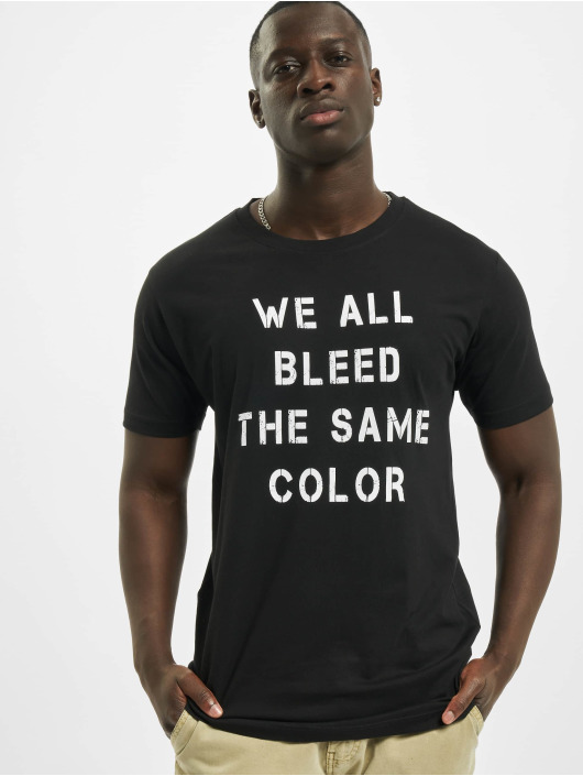 Mister Tee T-Shirt Blood Color schwarz