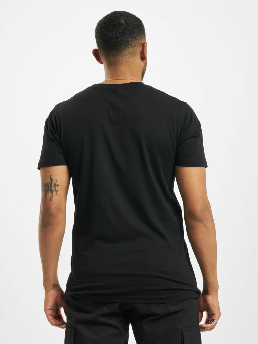 Mister Tee T-Shirt Swipe Up schwarz