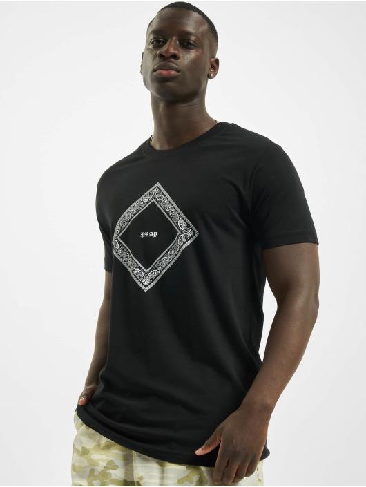 Mister Tee T-Shirt Bandana Shape Pray schwarz