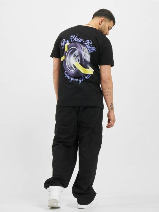 Mister Tee T-Shirt Pay Your Bills schwarz