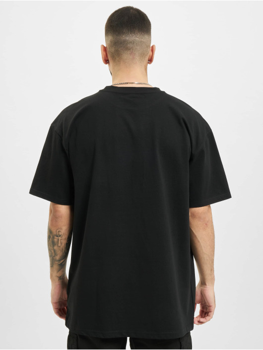 Mister Tee T-Shirt Electric Planet Oversize schwarz