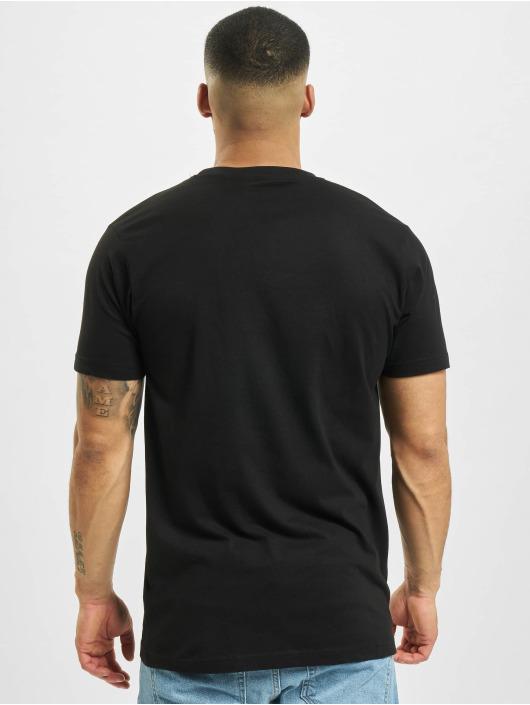Mister Tee T-Shirt A Burger schwarz