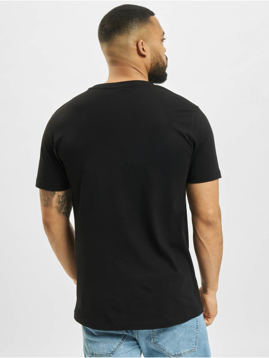 Mister Tee T-Shirt One Line Sneaker schwarz