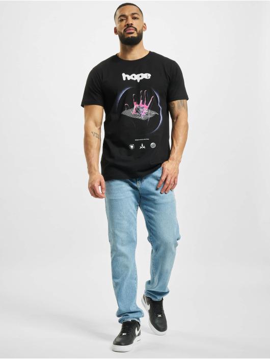 Mister Tee T-Shirt Hope schwarz