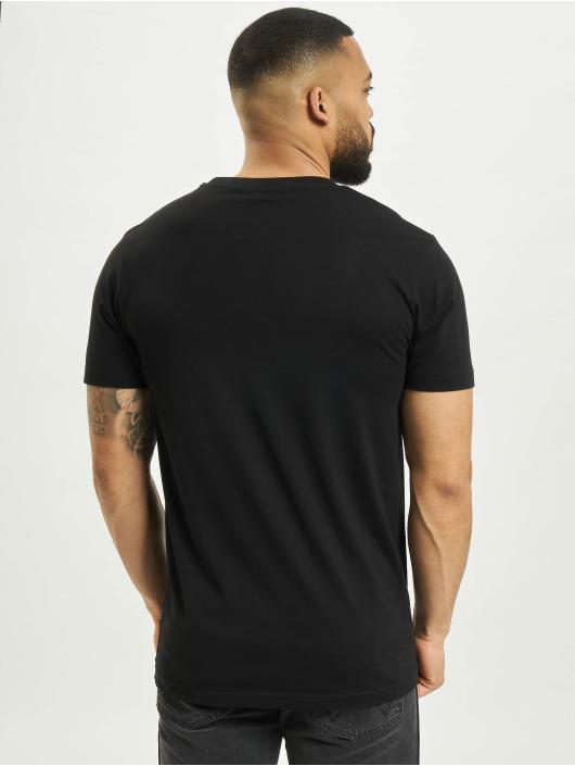 Mister Tee T-Shirt Future Flower schwarz