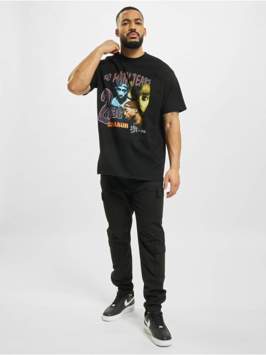 Mister Tee T-Shirt Tupac So Many Tears Oversize schwarz