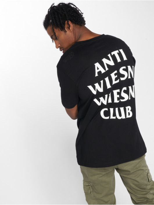 Mister Tee T-shirt Wiesn Club svart