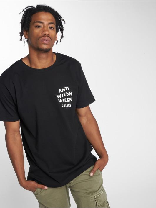 Mister Tee T-shirt Wiesn Club svart