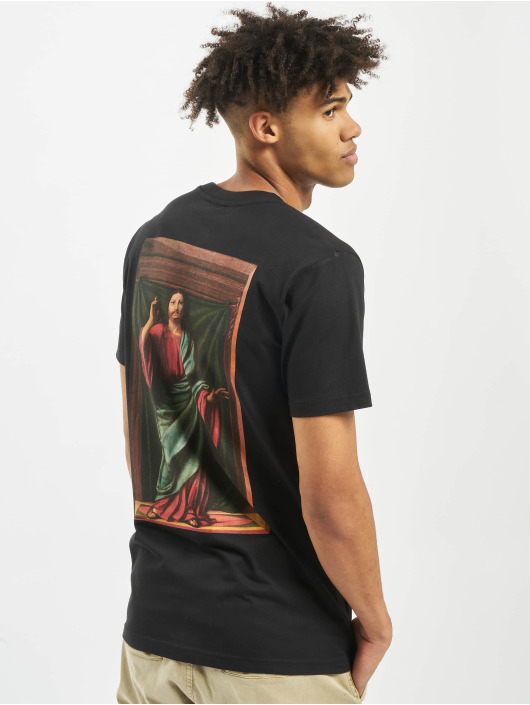 Mister Tee T-shirt Money Moves svart