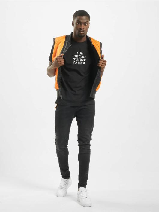 Mister Tee T-shirt Julius svart