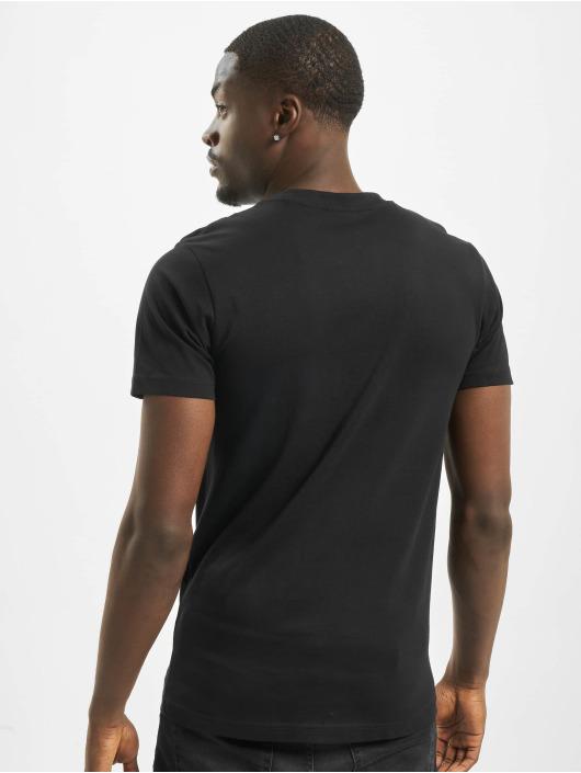 Mister Tee T-shirt Fingers Up svart