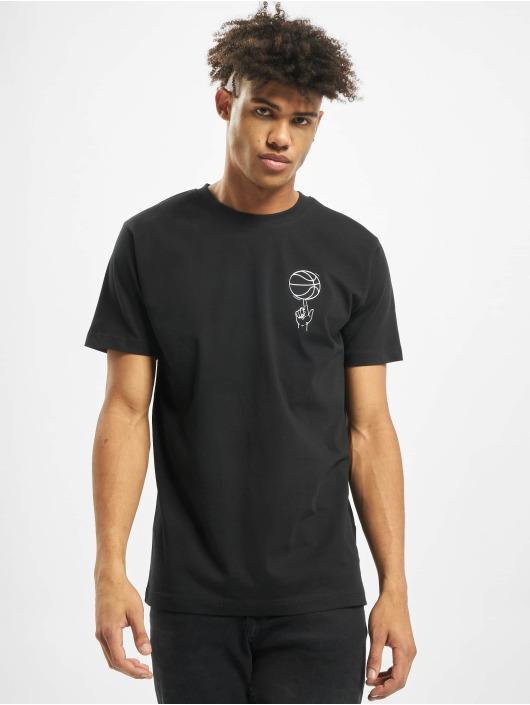 Mister Tee T-shirt Team Tactics svart