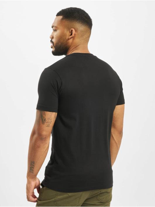 Mister Tee T-shirt Flamingo svart
