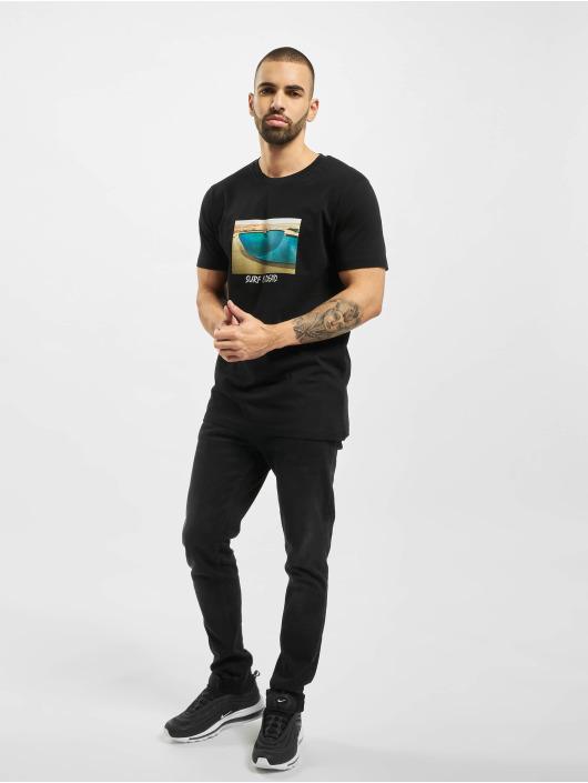 Mister Tee T-shirt Surf Is Dead svart