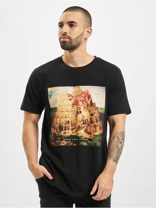 Mister Tee T-shirt Build Your Empire svart
