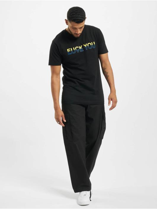 Mister Tee T-shirt Fuck Love svart
