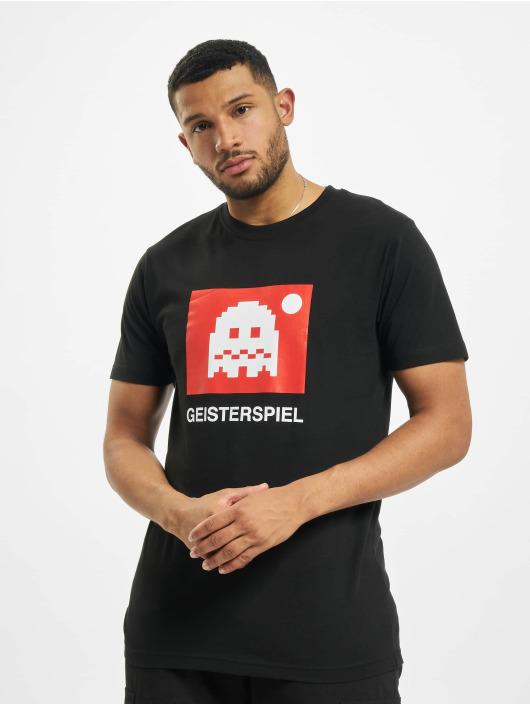 Mister Tee T-shirt Geisterspiel svart