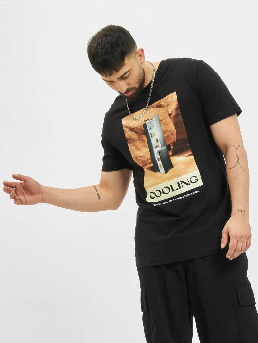 Mister Tee T-shirt Cooling svart