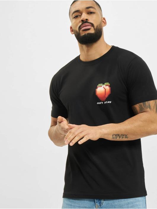 Mister Tee T-shirt Don´t Play svart