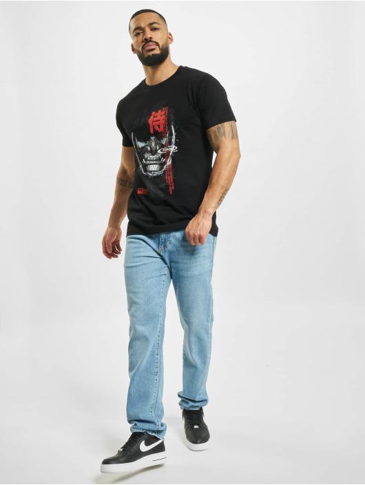 Mister Tee T-shirt Samurai svart