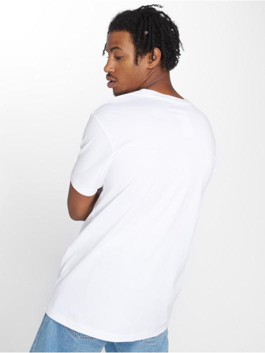 Mister Tee T-shirt Barbed vit