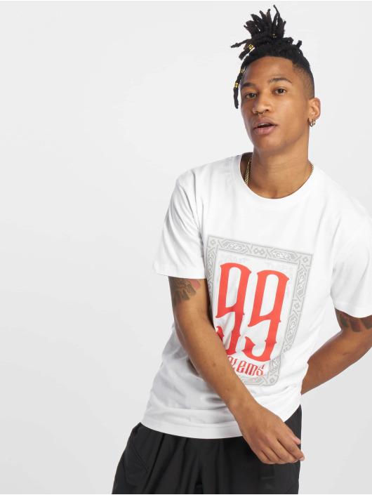 Mister Tee T-shirt 99 Problems vit