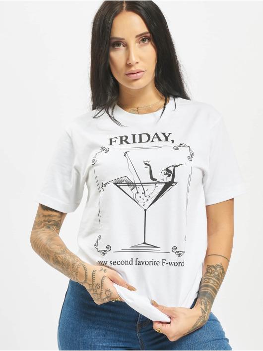 Mister Tee T-shirt F-Word vit