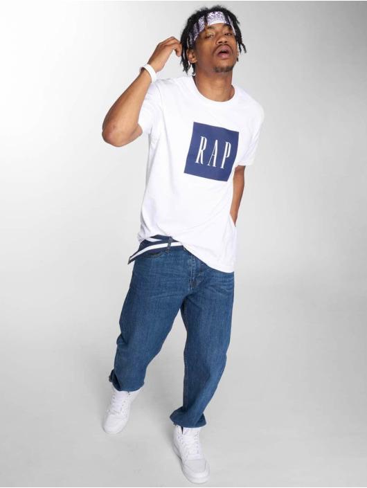 Mister Tee T-Shirt Rap Tee weiß