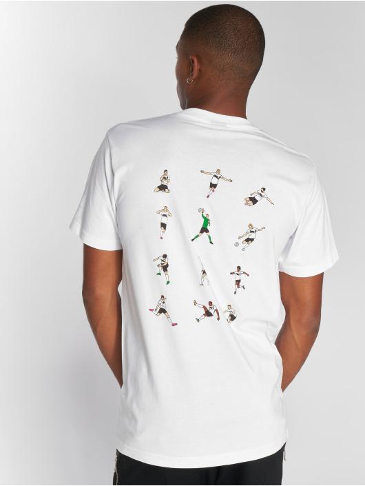 Mister Tee T-Shirt Krautz weiß