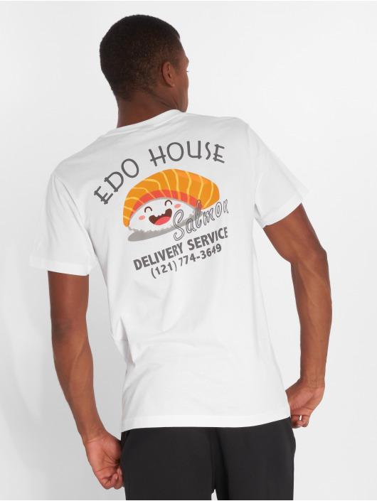 Mister Tee T-Shirt Edo weiß