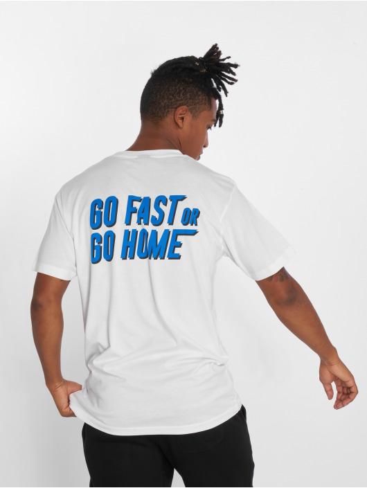 Mister Tee T-Shirt Go Fast weiß