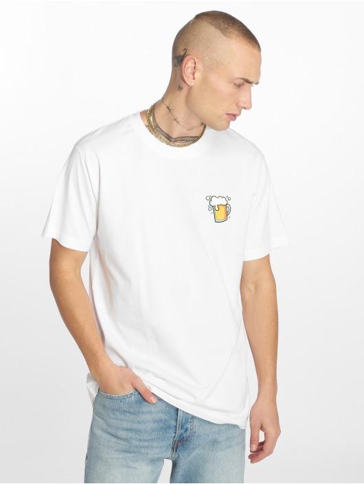 Mister Tee T-Shirt O Zapft Isch weiß