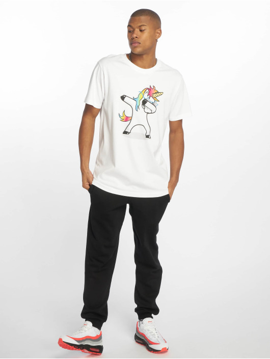 Mister Tee T-Shirt Dab weiß