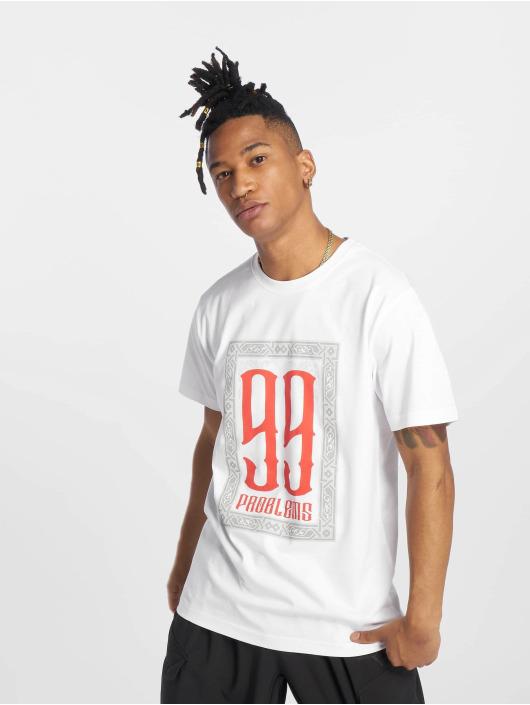 Mister Tee T-Shirt 99 Problems weiß