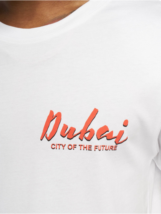Mister Tee T-Shirt City Of The Future weiß