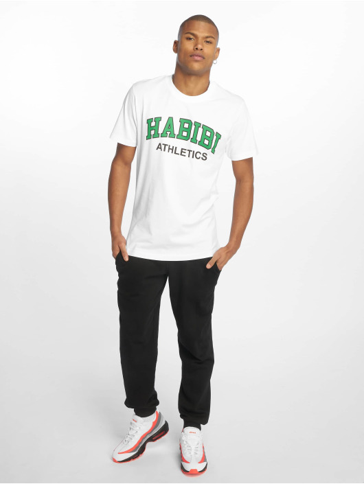 Mister Tee T-Shirt Habibi Atheltics weiß