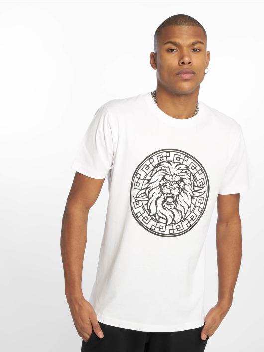 Mister Tee T-Shirt Lion Face weiß