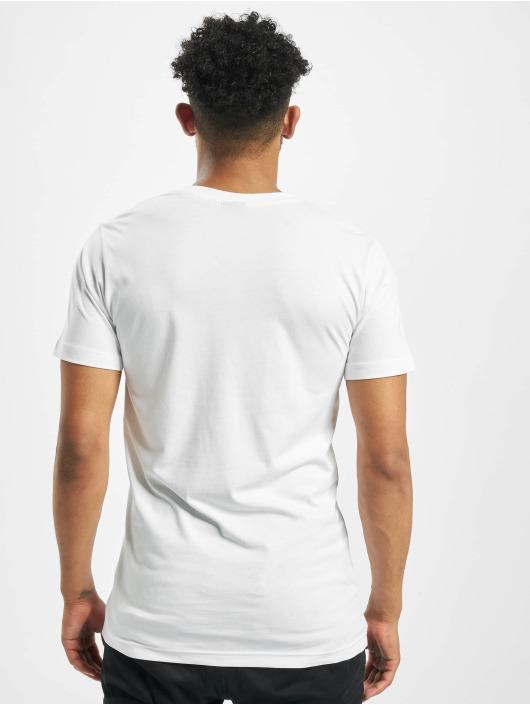 Mister Tee T-Shirt Skyline weiß