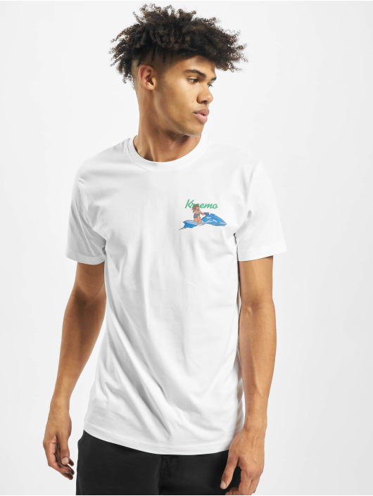 Mister Tee T-Shirt Bad Gyal weiß
