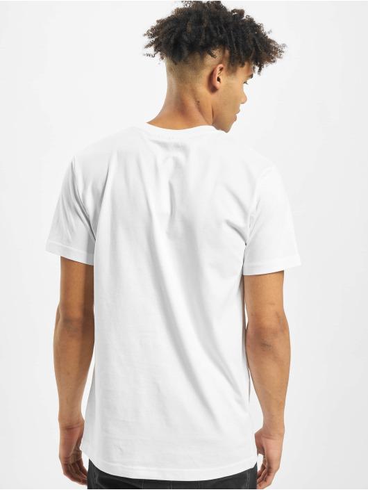 Mister Tee T-Shirt Mi Casa No Es Tu Casa weiß