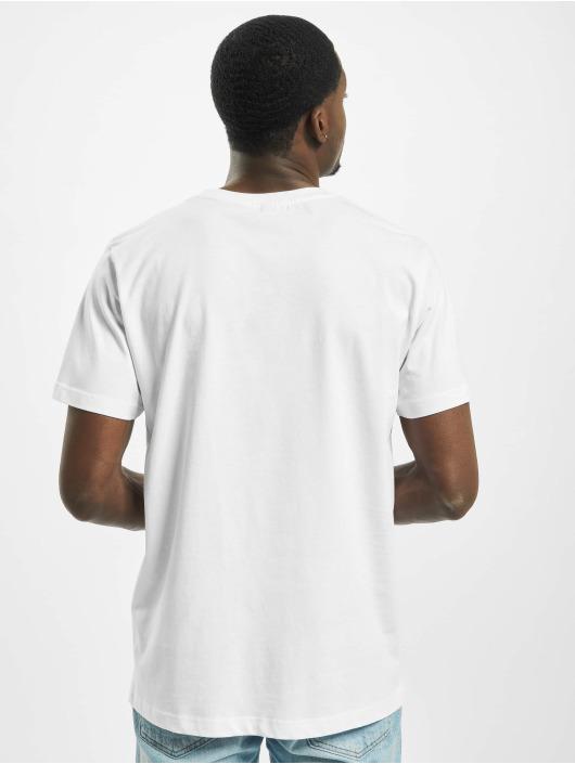 Mister Tee T-Shirt Fika Definition weiß