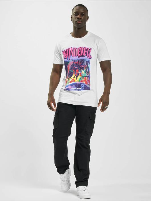 Mister Tee T-Shirt Wonderful weiß