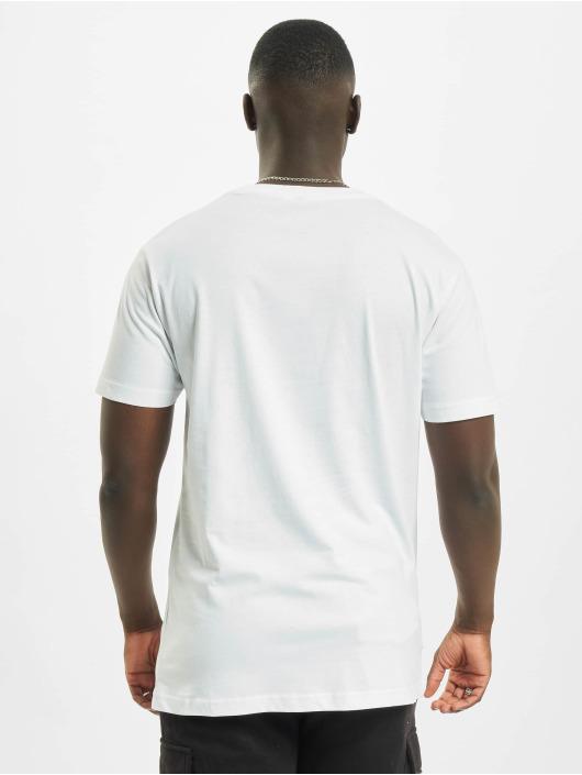 Mister Tee T-Shirt Lit City weiß
