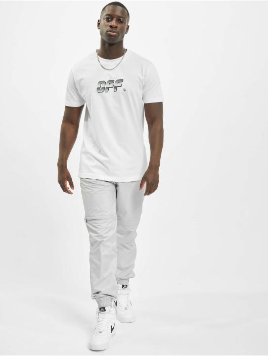 Mister Tee T-Shirt Shiny Off weiß