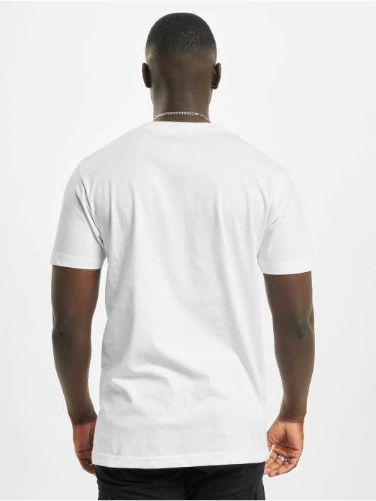 Mister Tee T-Shirt Social Media weiß